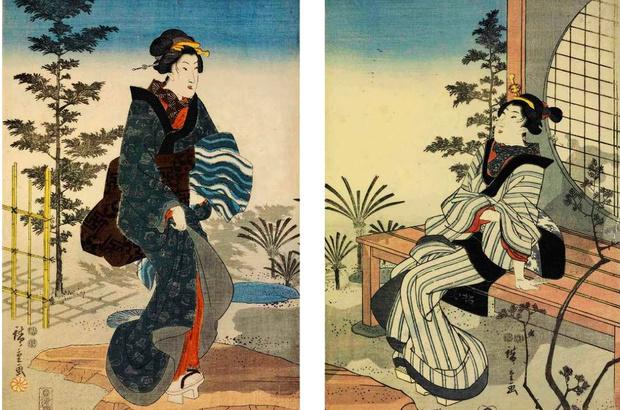 Виставка японської гравюри укійо-е «Світ кабукі»
