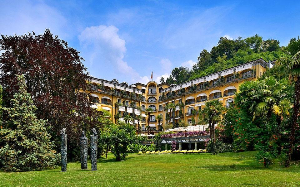 Відпочинок на озерах Швейцарії в п'ятизірковому Grand Hotel Villa Castagnola