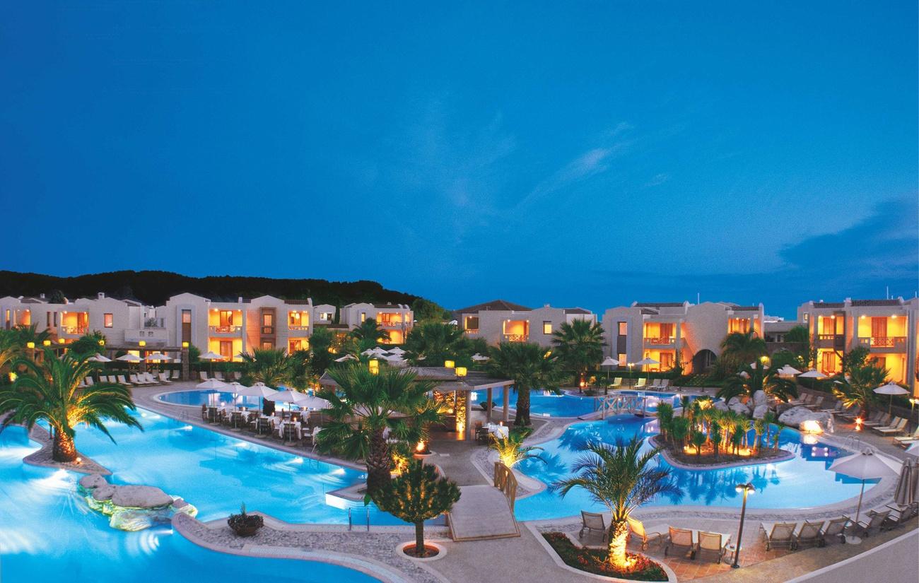 Еко-курорт Sani Resort, Халкидики, Греция