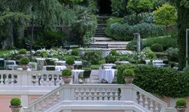 Сады с террасами отеля De Russie