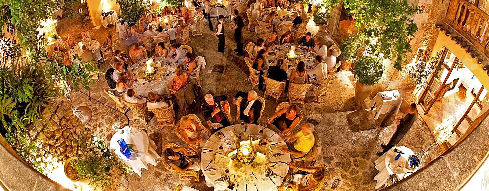 Ужин в Belmond La Residencia