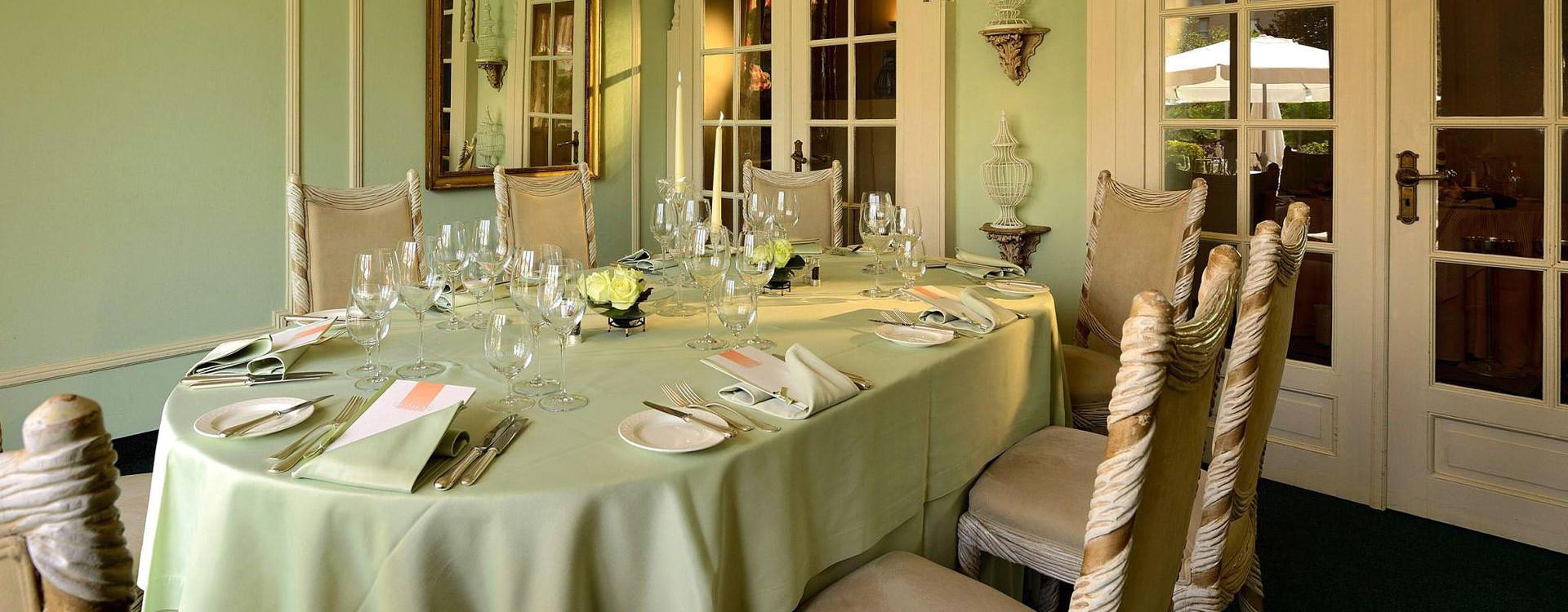 Grand Hotel Villa Castagnola ретсоран