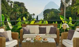Терраса Grand Hotel Villa Castagnola