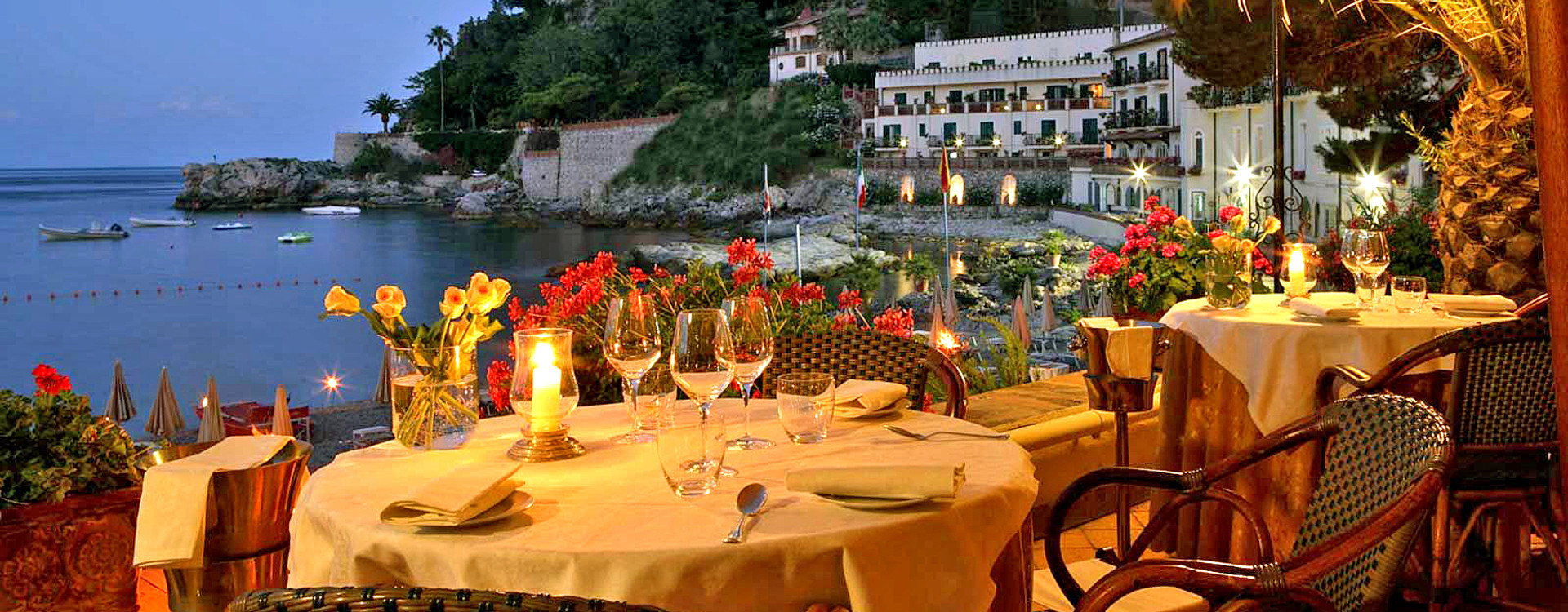 Ресторан в Belmond Villa St Andrea