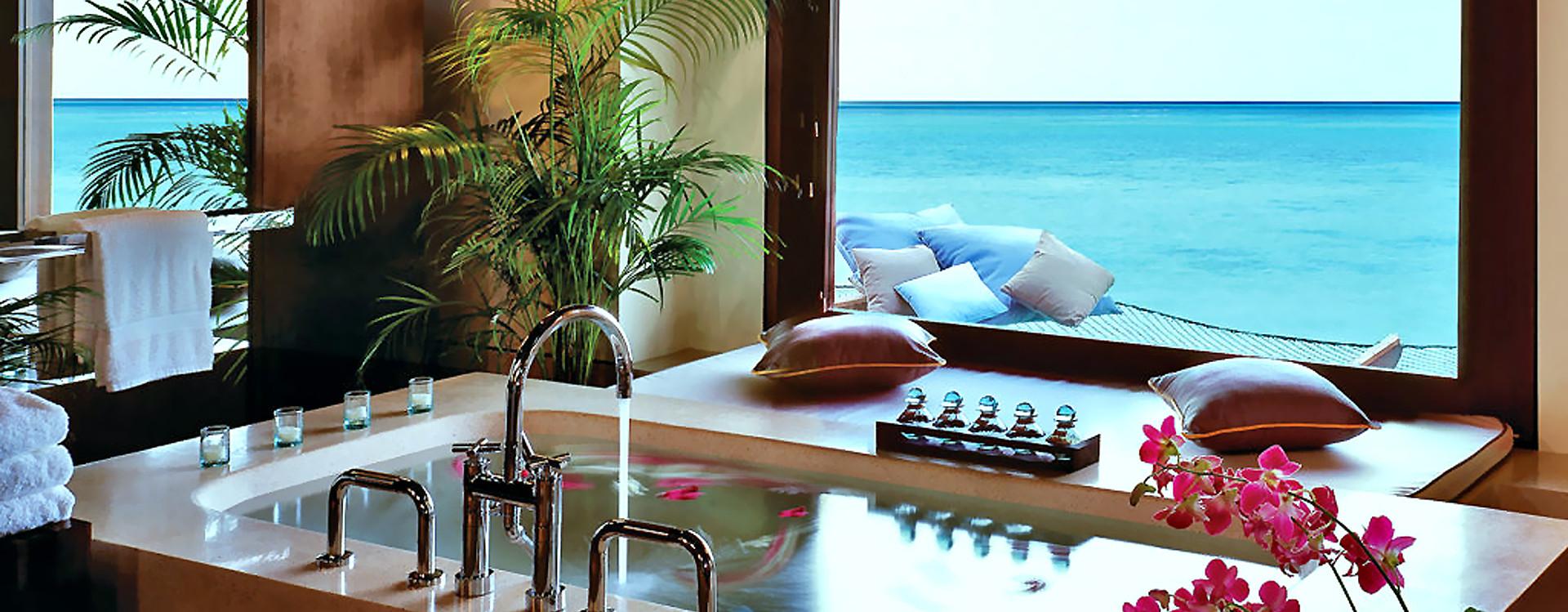 спа-ценр отеля на Мальдивах