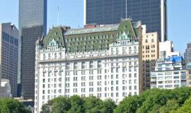 The Plaza Hotel New York, Манхэттен, вид из парка