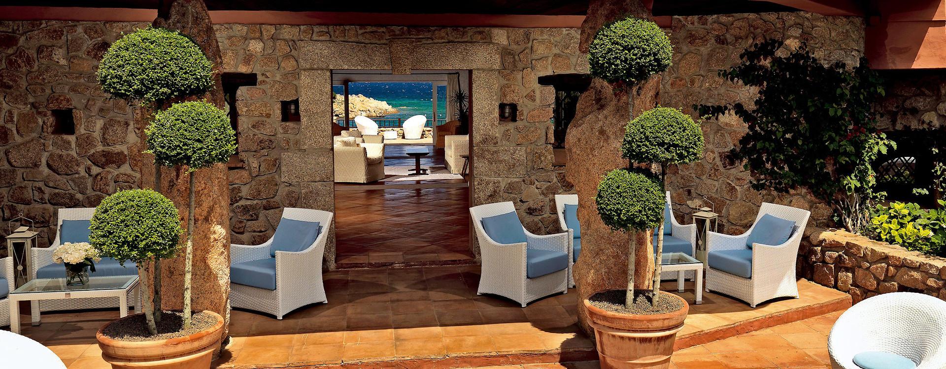 Hotel Pitrizza - люксовый отель на побережье Сардинии Коста Смеральда