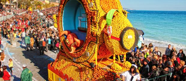 Фестиваль лимонов в Меноне