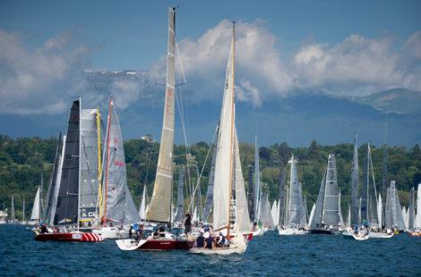 Bol d'Or Mirabaud на Женевском озере