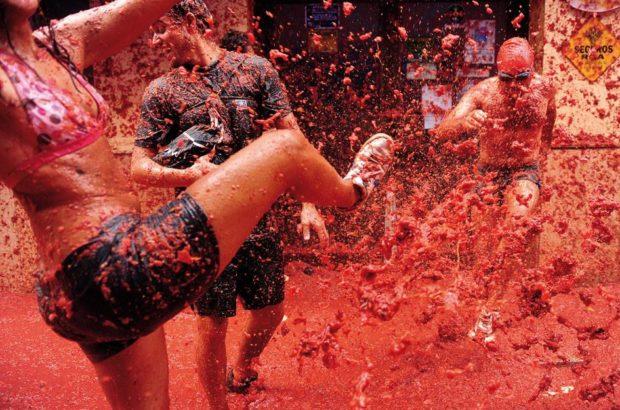 Фестиваль Tomatina, Испания