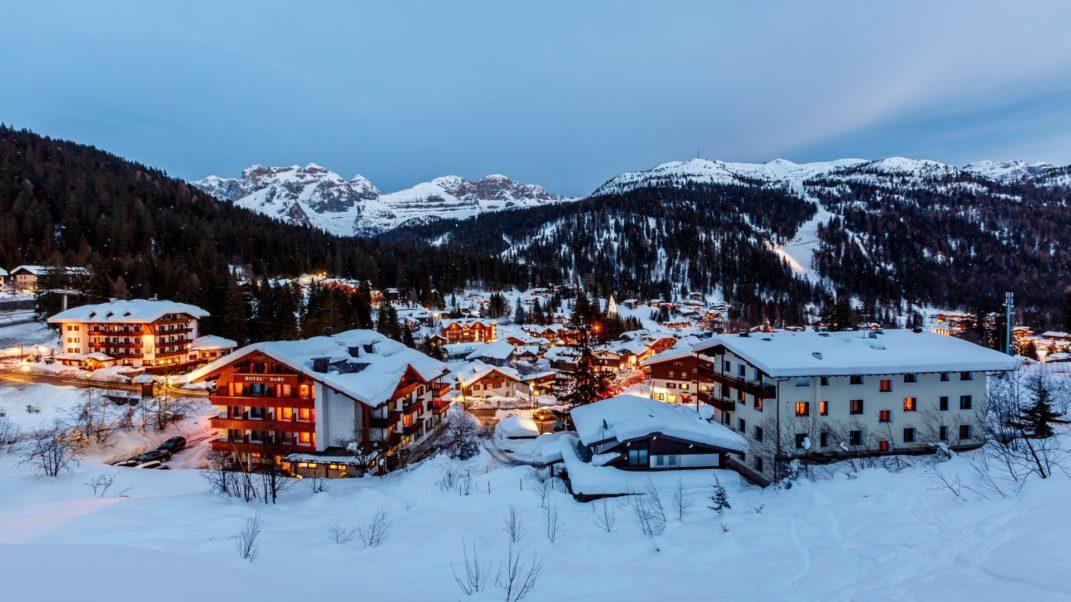 Катание на лыжах в Италии