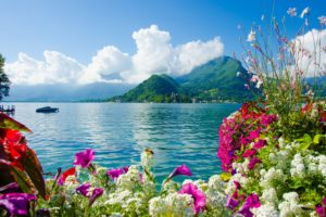 Озеро Анси, Франция