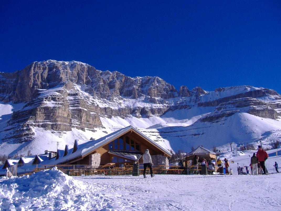 Гірськолижний курорт, Італія