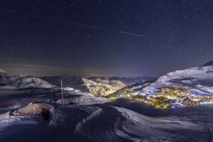 Вид на ночной Валь-Торанс
