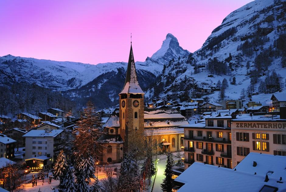 Горнолыжные туры в Швейцарию