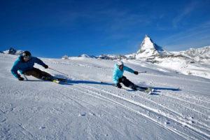 Катание для опытных лыжников в Церматте