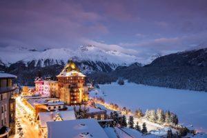 Отдых в зимней Швейцарии