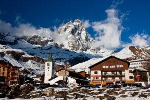 Самый высокогорный итальянский курорт - Червиния