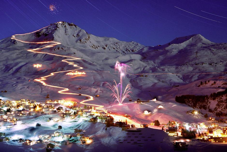 Итальянский горнолыжный курорт Червиния