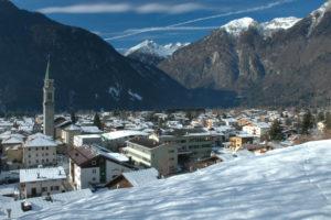 Доломитовы Альпы, катание на лыжах