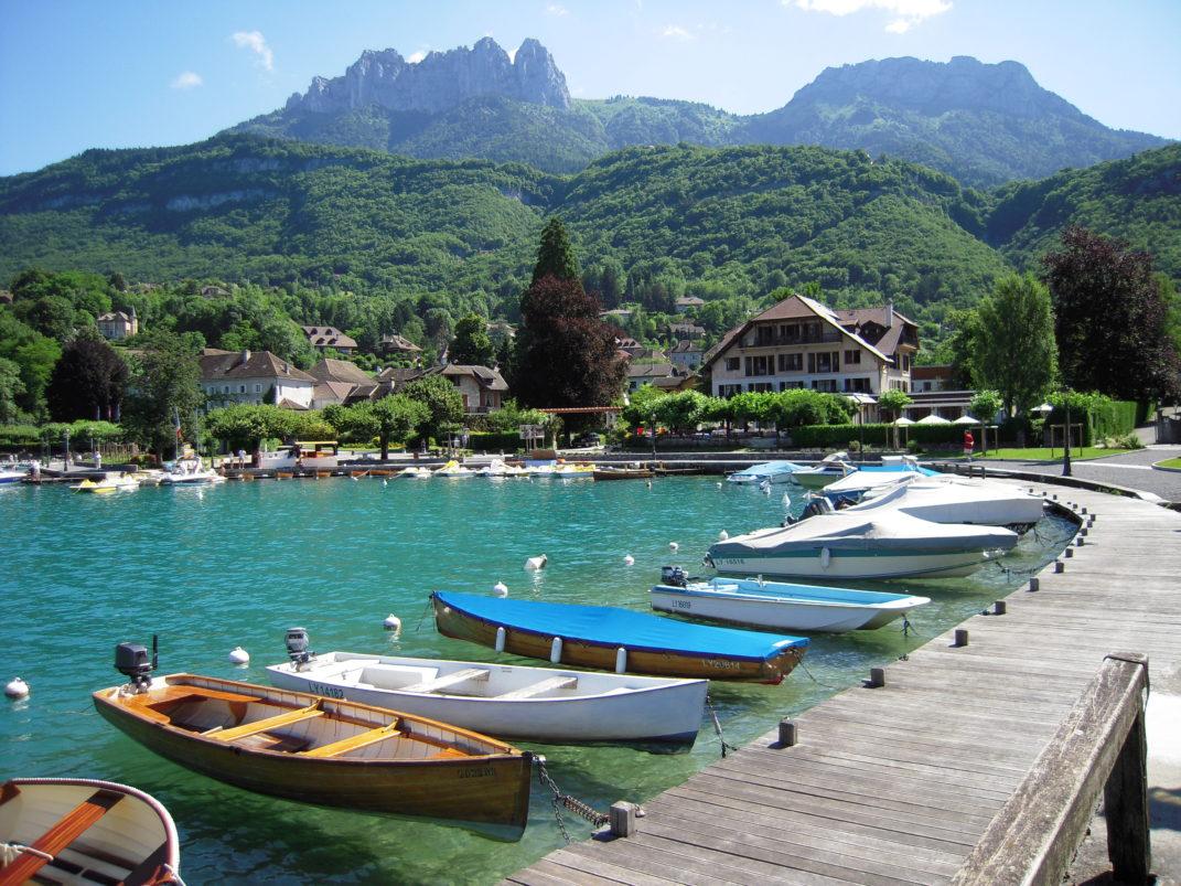 Летний отдых на озере Анси