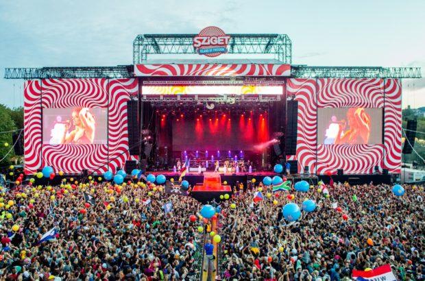 Музыкальный фестиваль sziget — крупнейший в Европе.