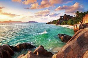 Сейшельский остров Праслин