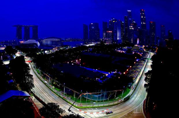 Формула-1 Сингапур, ночная гонка