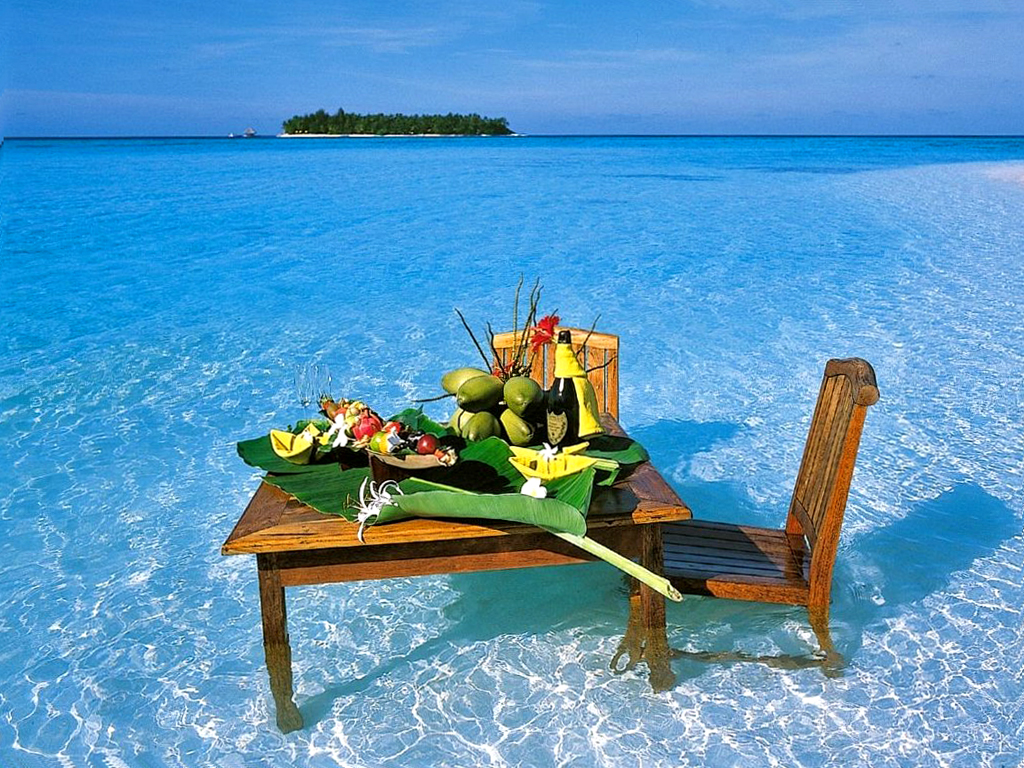 Завтрак в океане