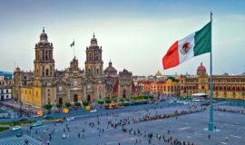 Мехико, главная площадь и Кафедральный собор
