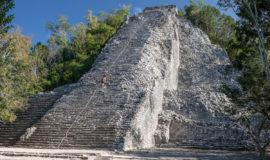 Мексика, пирамида в Кобе