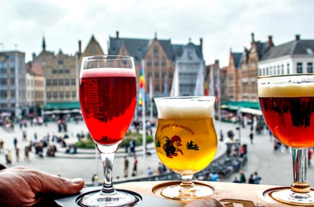 Пивной фестиваль в Брюгге