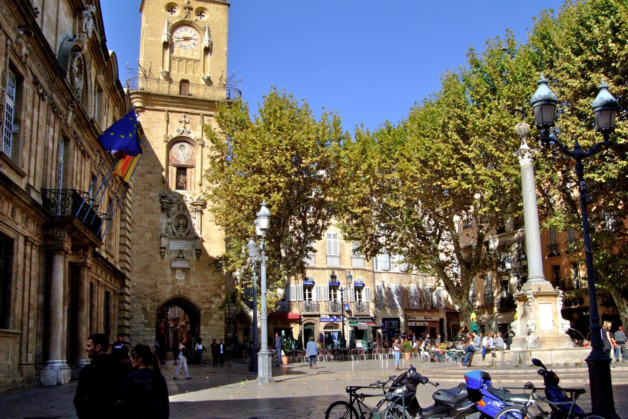 Улочки и площади Экс-ан-Прованса