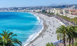 Пляж и набережная Ниццы