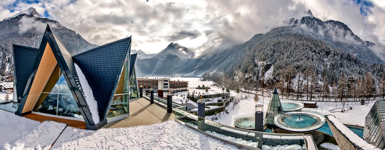 AQUA DOME — термальний комплекс поблизу курорту Зельден в Австрії
