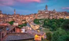 Тосканский город Сиена