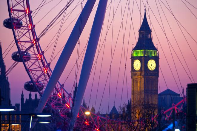 День Святого Валентина в Лондоне