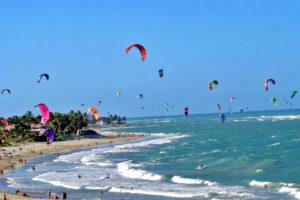 Обучение кайтсерфингу в Доминикане