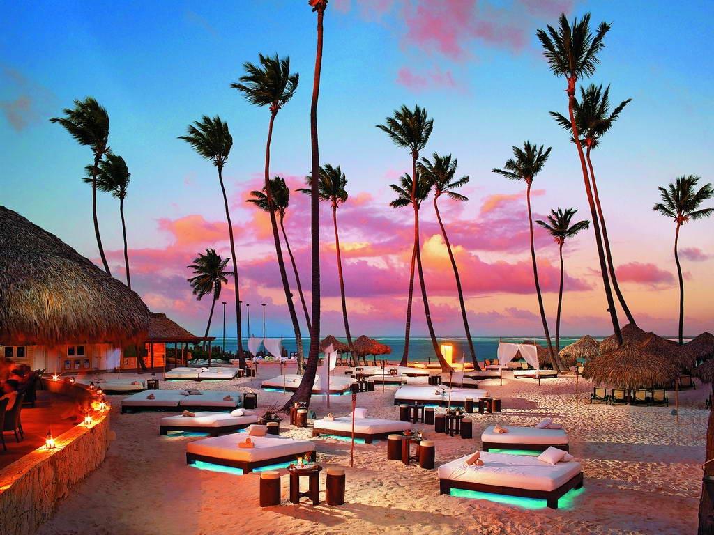 Романтичные закаты в Доминикане