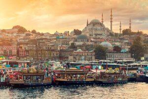 Стамбул — город на двух частях света